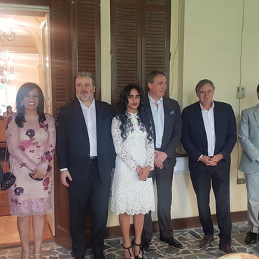Sheikha Al Thani joined to the Embassy of the Republic of Serbia in Cairo