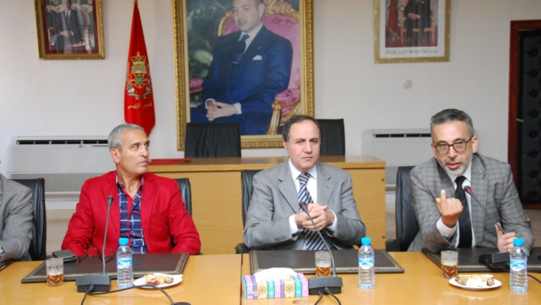 Preparations for the SATUC World Cup, Tiznit, Morocco gets underway