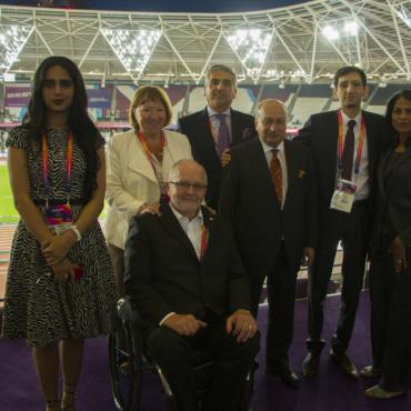 Sheikha Al-Thani: London World Para Athletics Championships